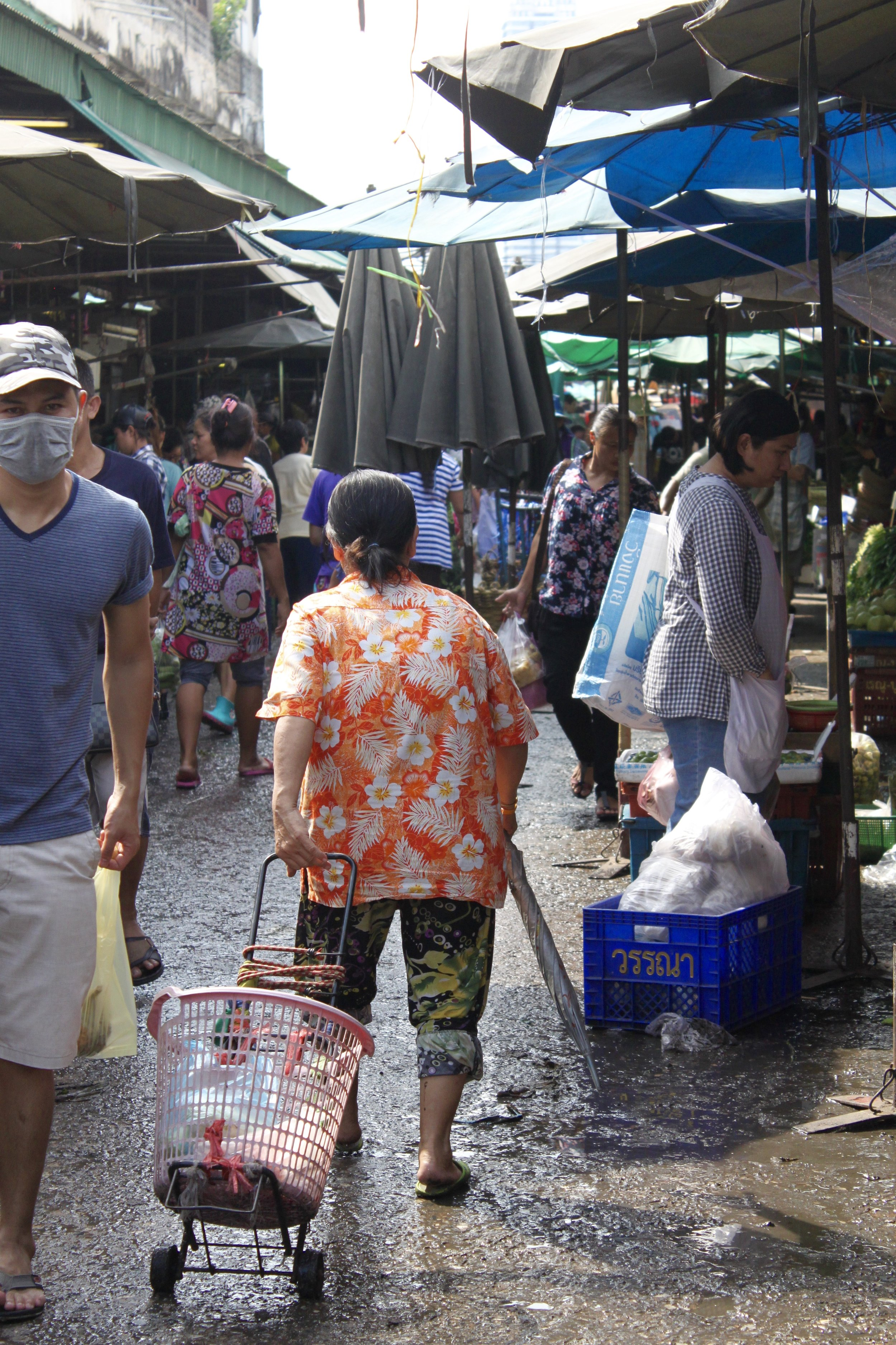 Shopping,  Khlong Toei Fresh Market
