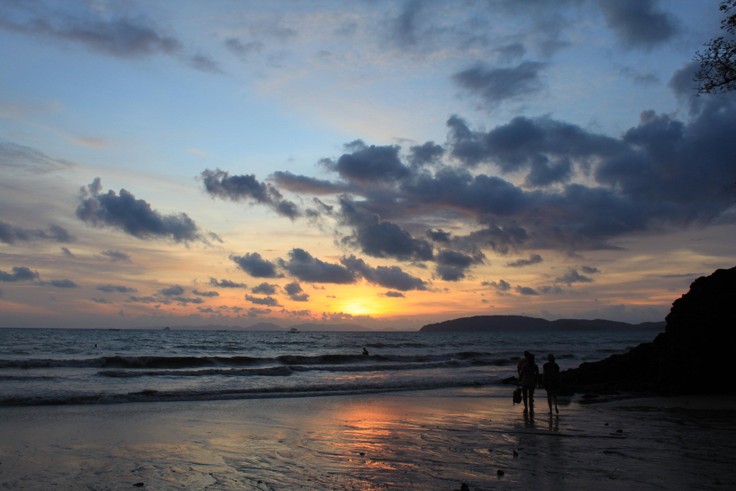 Sunset, Ao Nang Beach Krabi