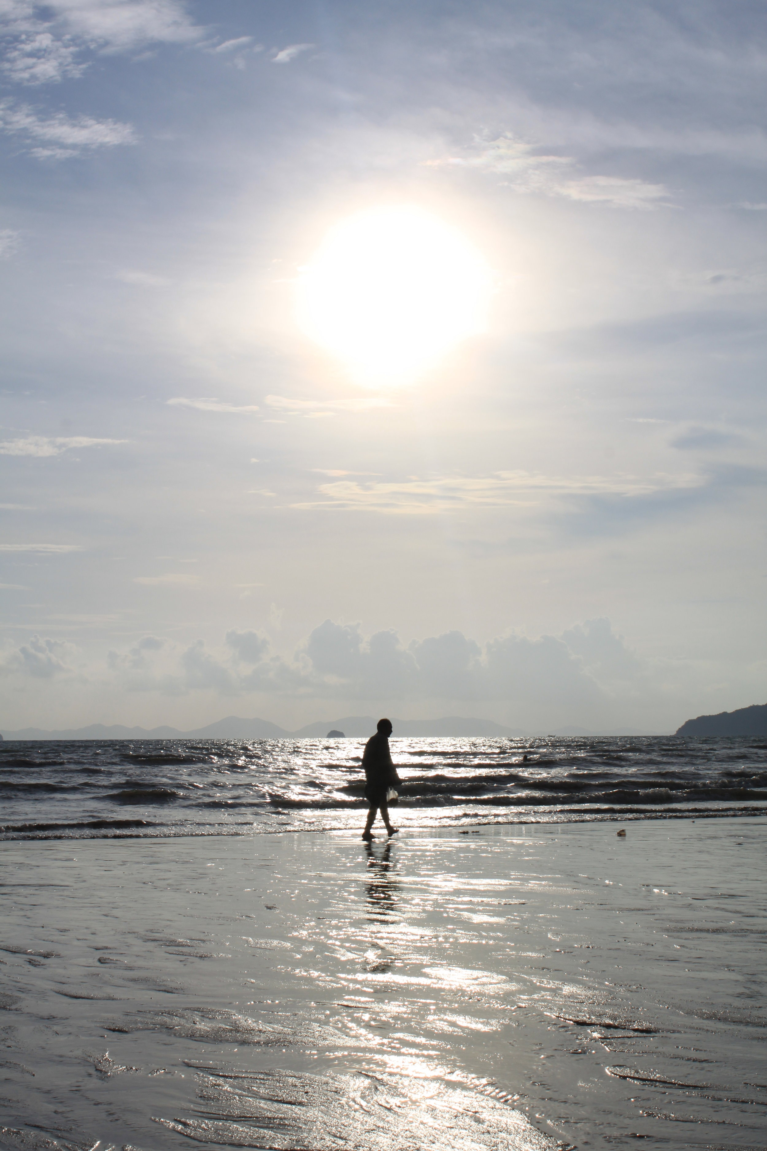Sea Shell Hunt, Ao Nang Beach Krabi