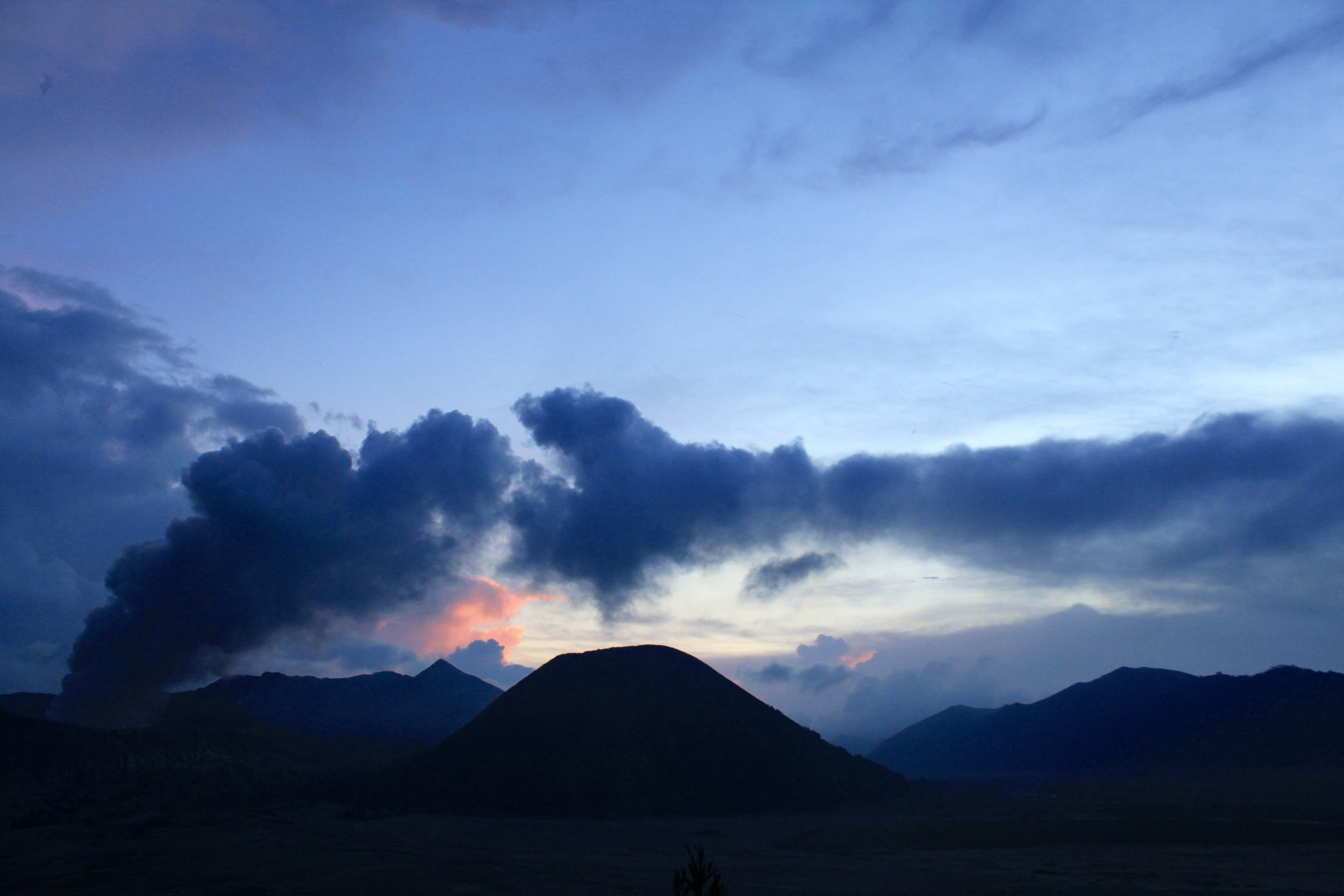 Mt. Bromo at Sunset