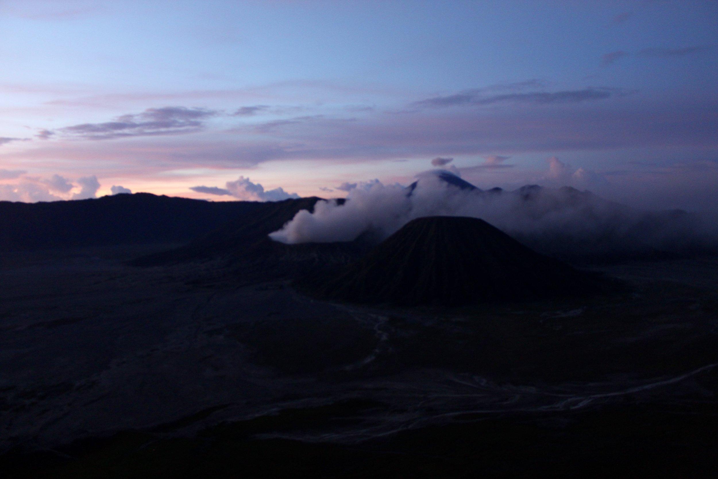 Pt 1. Sunrise Over Mt. Bromo