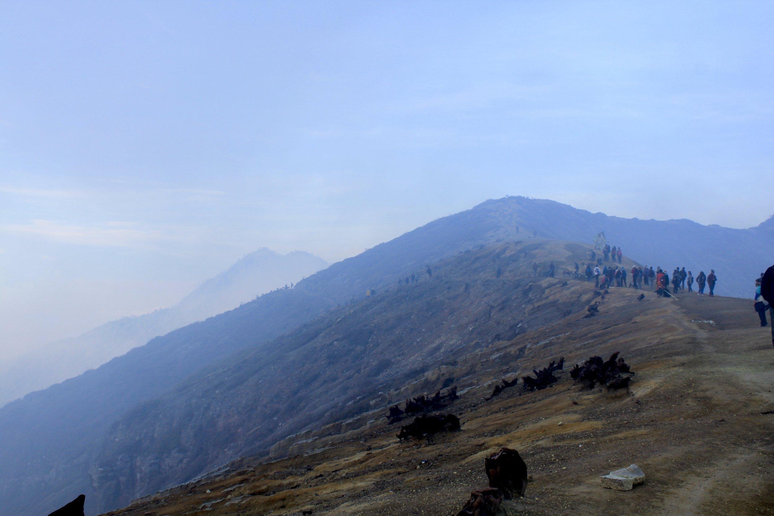 Mt. Ijen Crater Rim