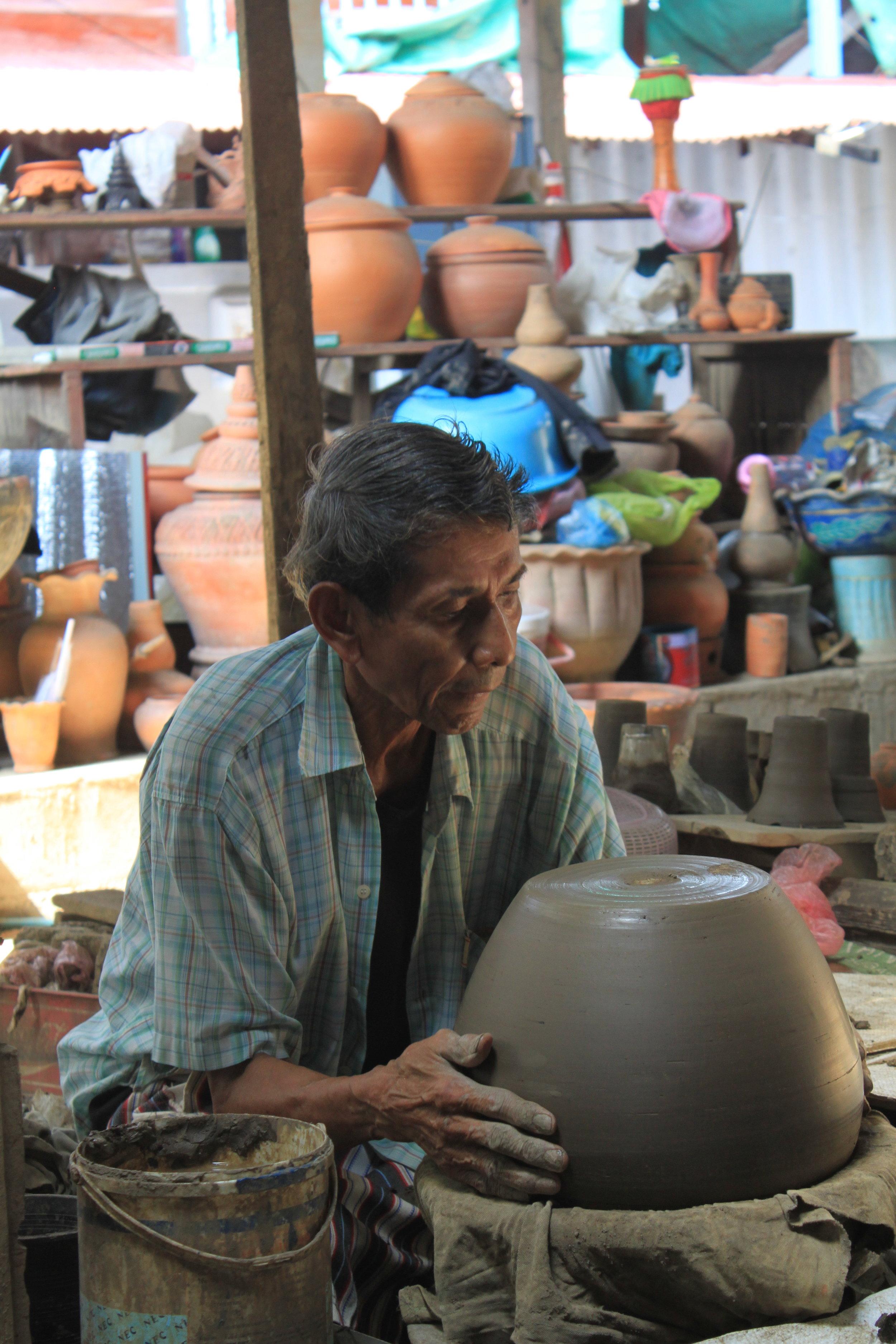 Pottery Maker, Koh Khret