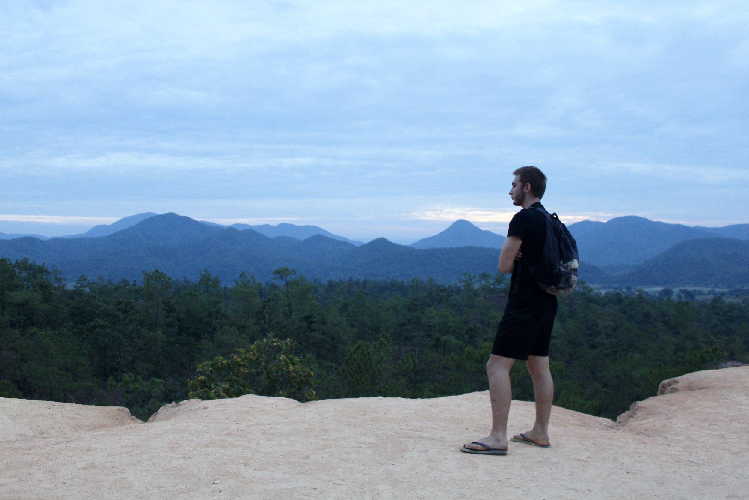 Pensive, Pai Canyon
