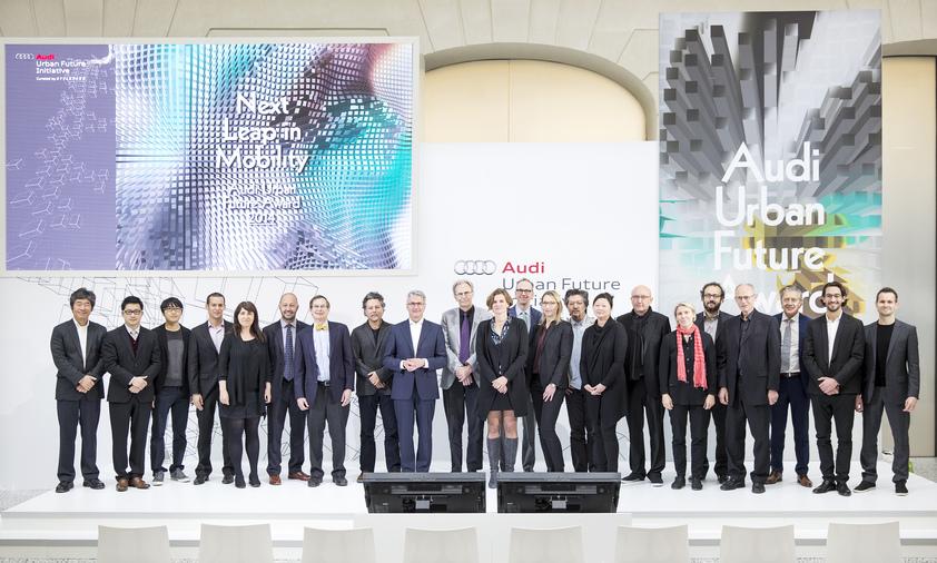 AUFA Award Ceremony Berlin, 2014 ©Audi Urban Future Initiative