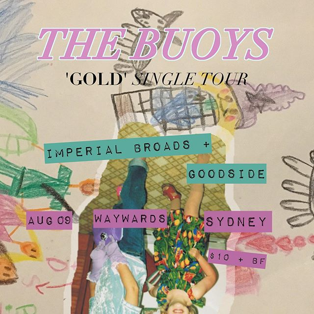 💕We're gonna help @the_buoys celebrate their new single w @goodsideband_ // Fri Aug 9 @ Waywards // Come party 💕