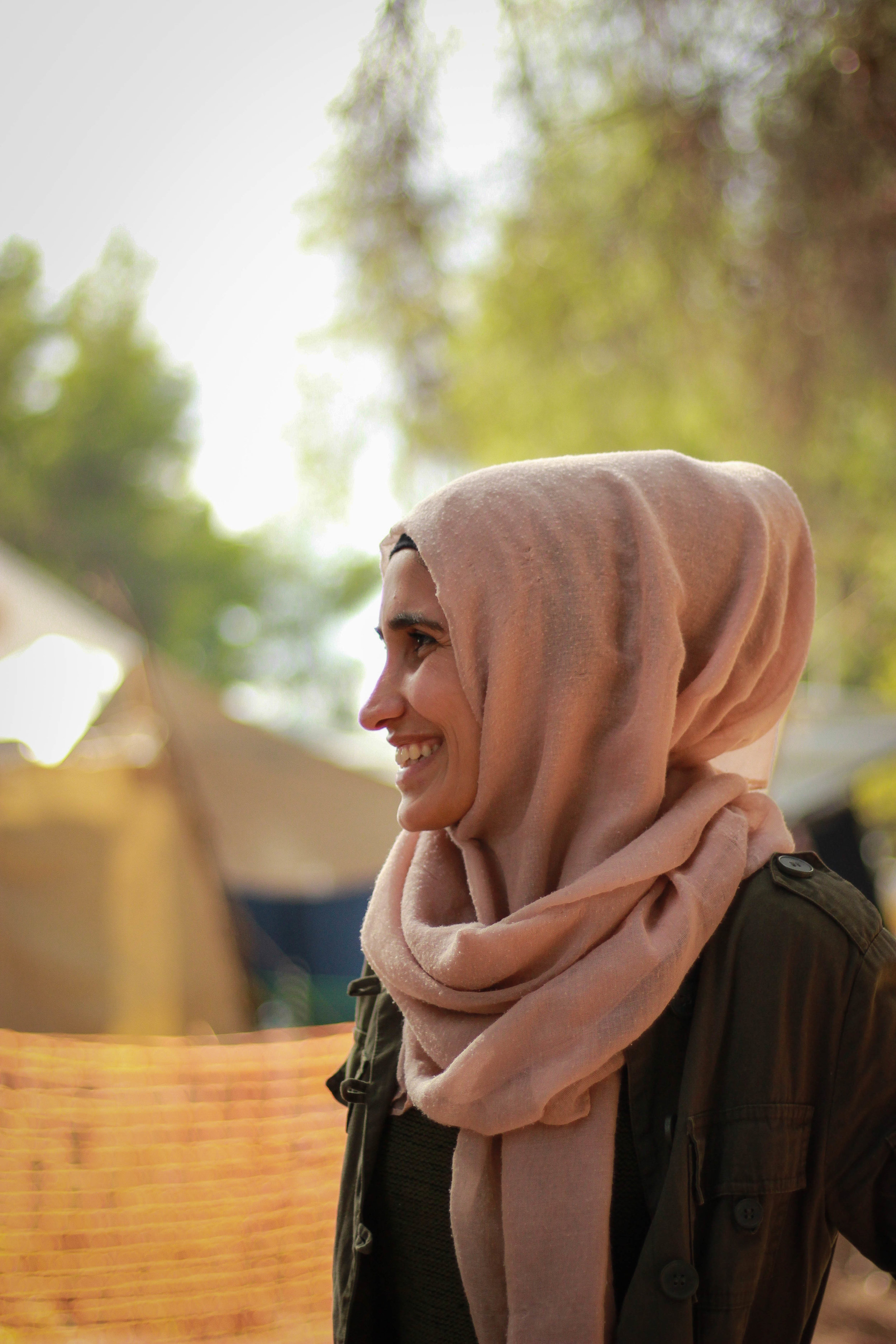 """Siba, 20 years old from Qamishli, Syria / Photo: Shayanne Gal   """"The Border"""" by Siba Alsaker  """"Dream: If I want to do something, I will do it. I want to complete my studies, therefore I will complete my studies. I will do everything as I want to, and follow how I feel. No one can take away my dream, and the border is not my dream. My dream is to see these refugee children with a future, a safe life, able to go back to Syria and live a normal life like before - but thanks to Europe for making me a stronger person. My dream is infinite."""""""