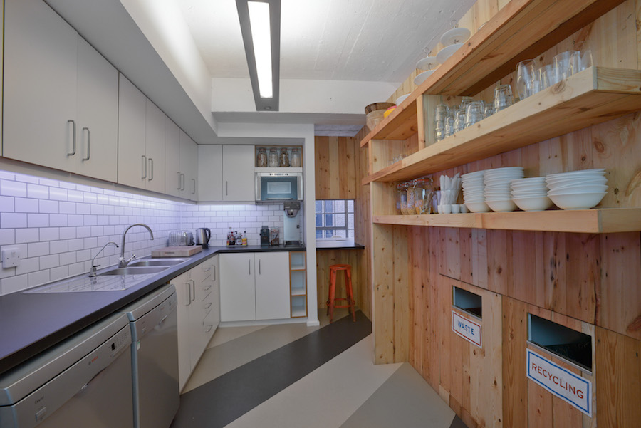 IDEO final kitchen area. Forster Inc Design.