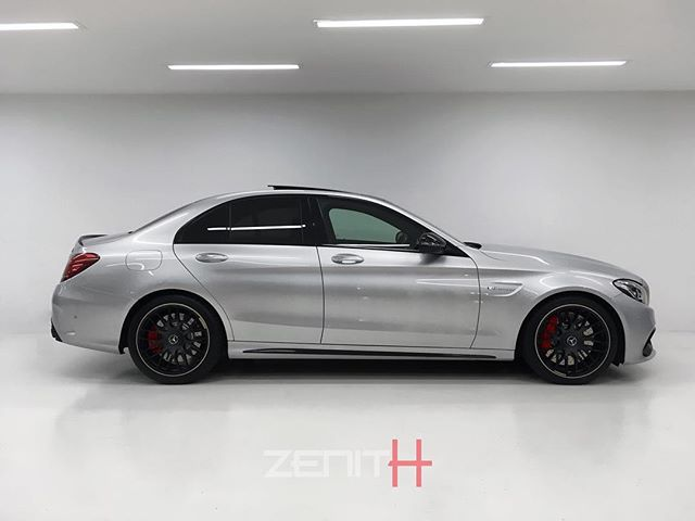 -New In- Beautiful C63-S finished in an iconic Silver that dates back as far as the legendary #SilverArrow race car and throughout the years of AMG Motorsport. . Maintained with no expense spared by its only owner from new. .
