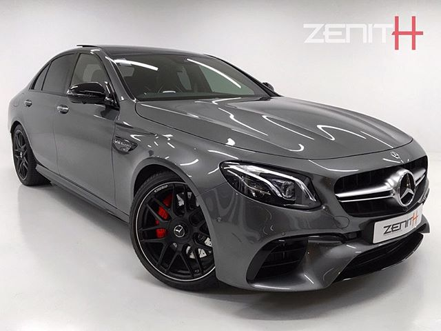 - 2019 E63-S AMG Finished in Selenite Grey 🌑  Covering only 600 delivery miles, the 4.0L Bi-Turbo beast is waiting in our showroom for its next owner to wake her up😈