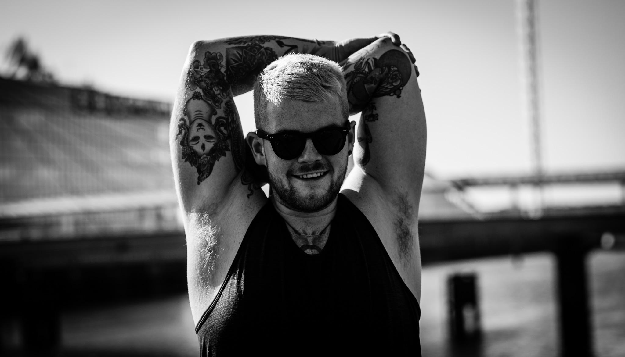portrait of Kyle Gray // photograph by Calum McMillan