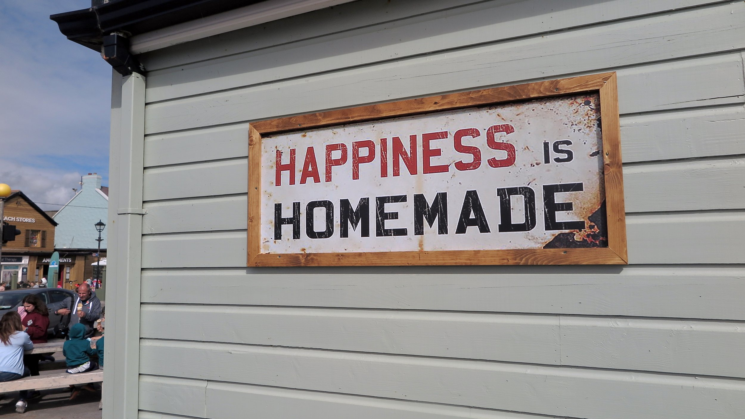 cool sign of happiness