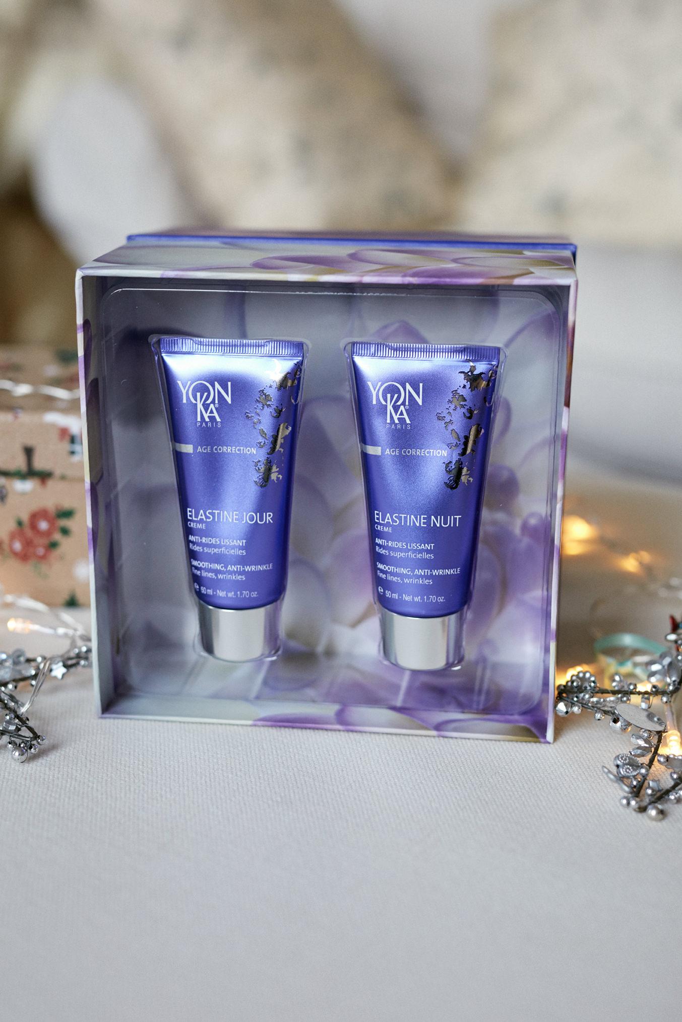 Yonka Christmas Gift Holly White Elastaine Jour