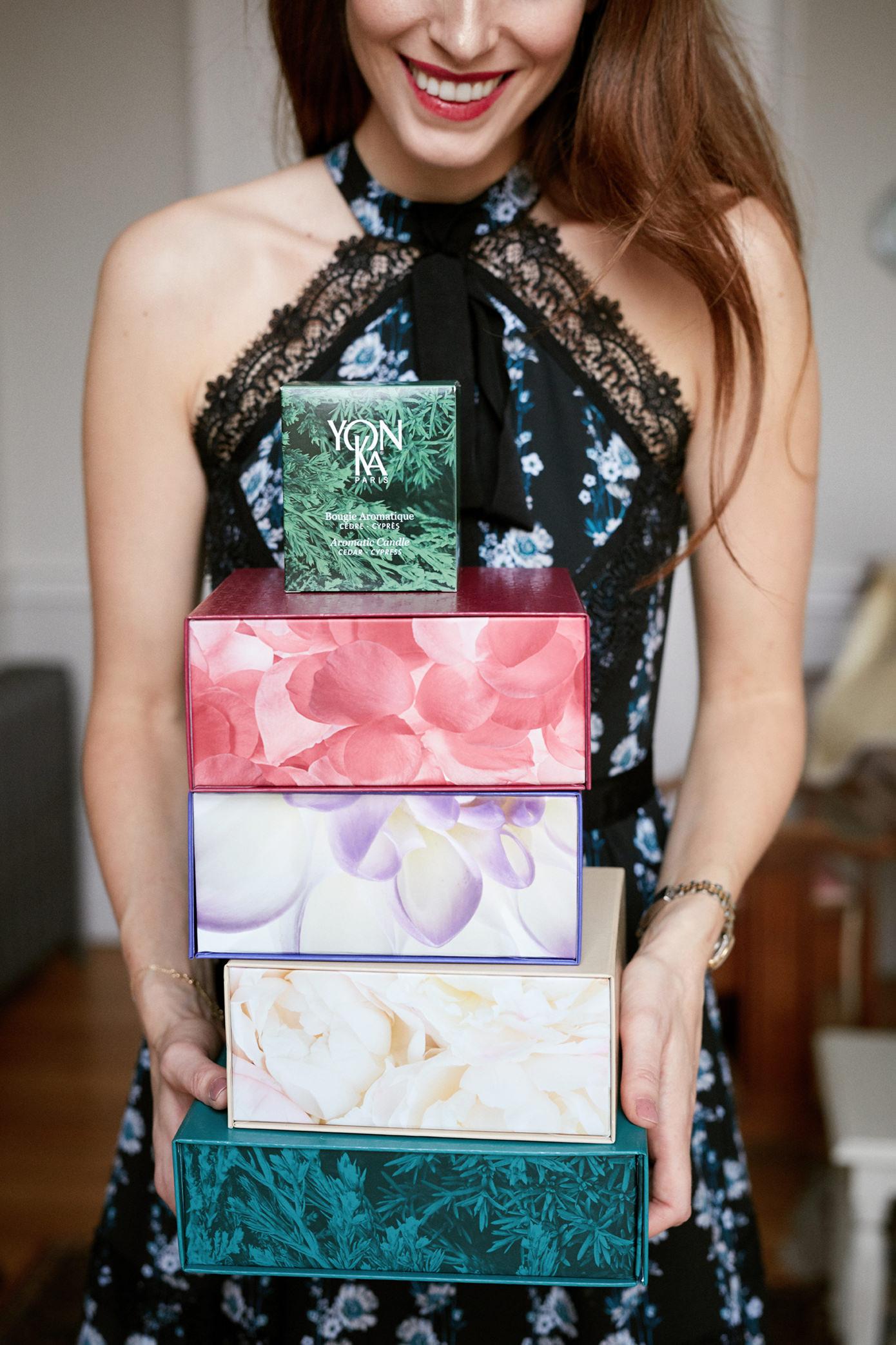 Yonka Christmas Gift Holly White Christmas gift sets