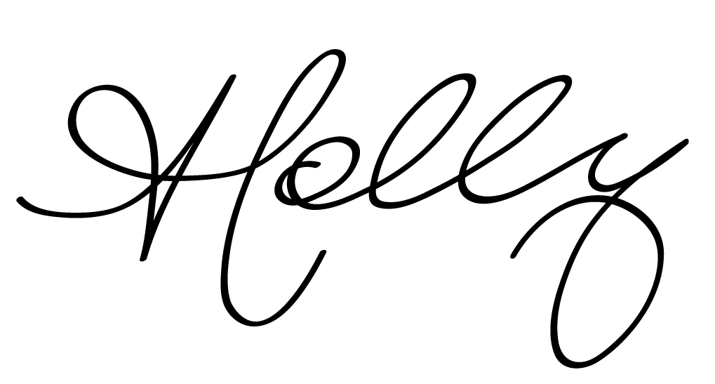 Holly white signature