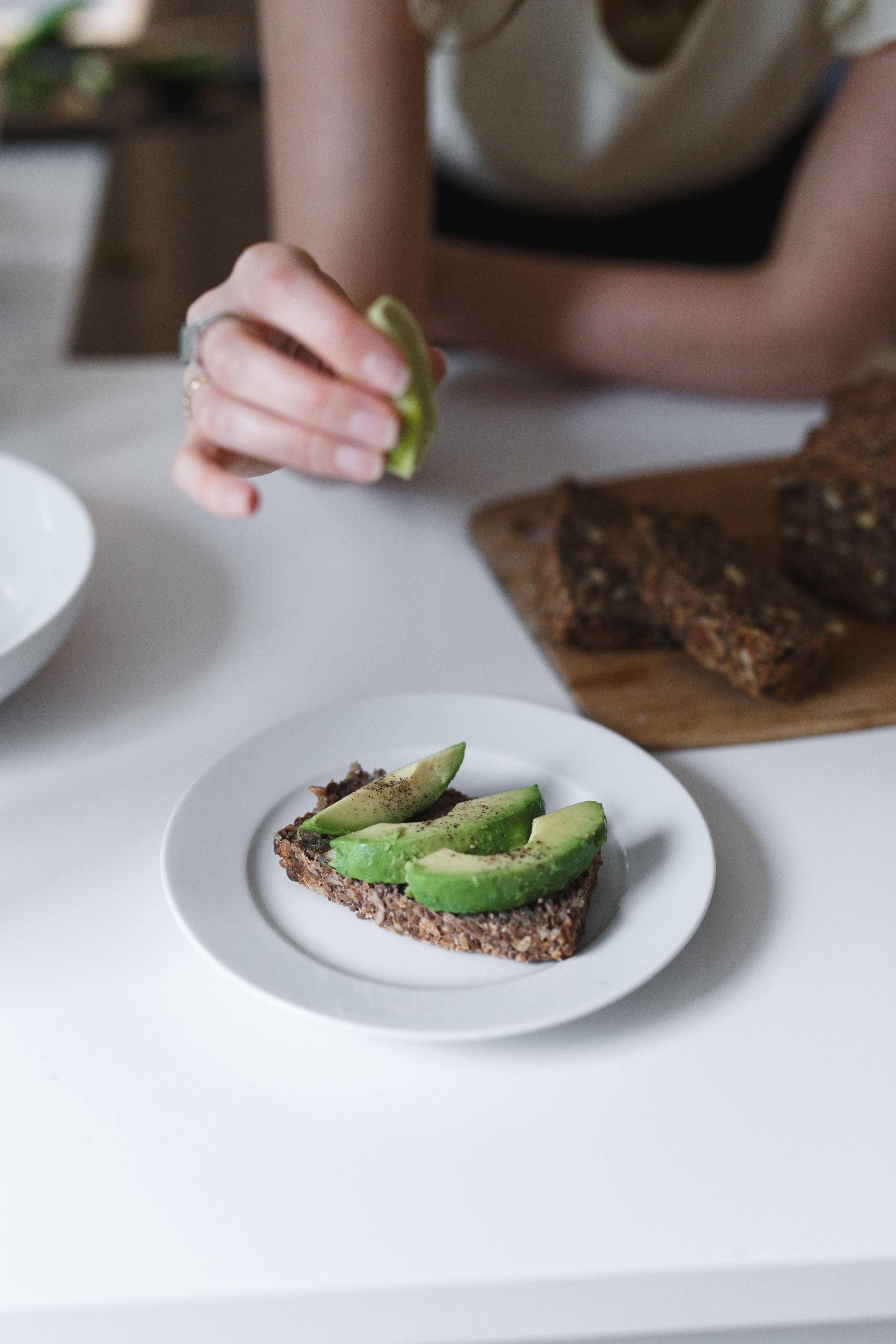 Holly White Vegan, Avocado Toast, Dublin