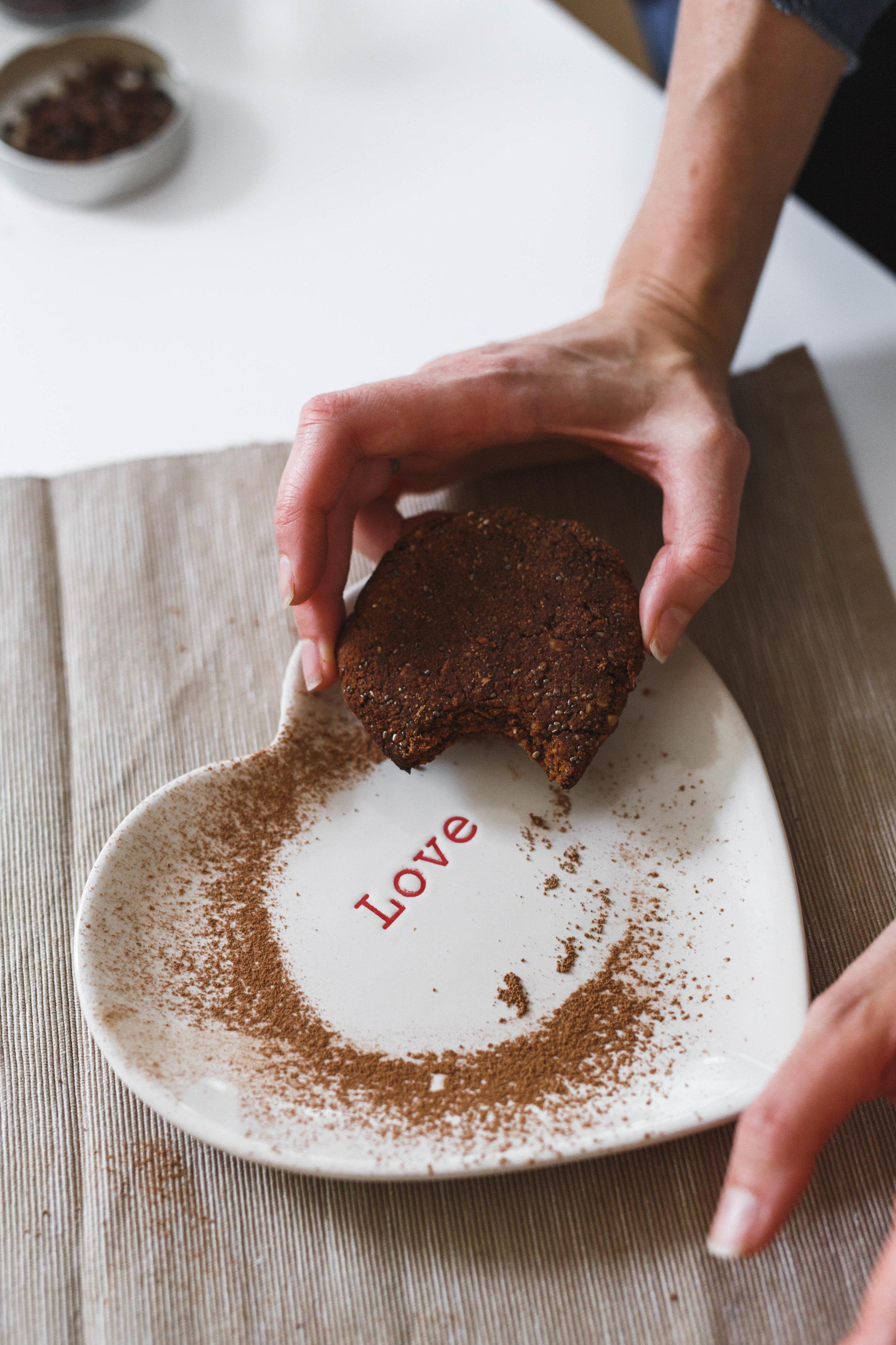 Holly White, Vegan Dublin, Chocolate Vegan Cookies