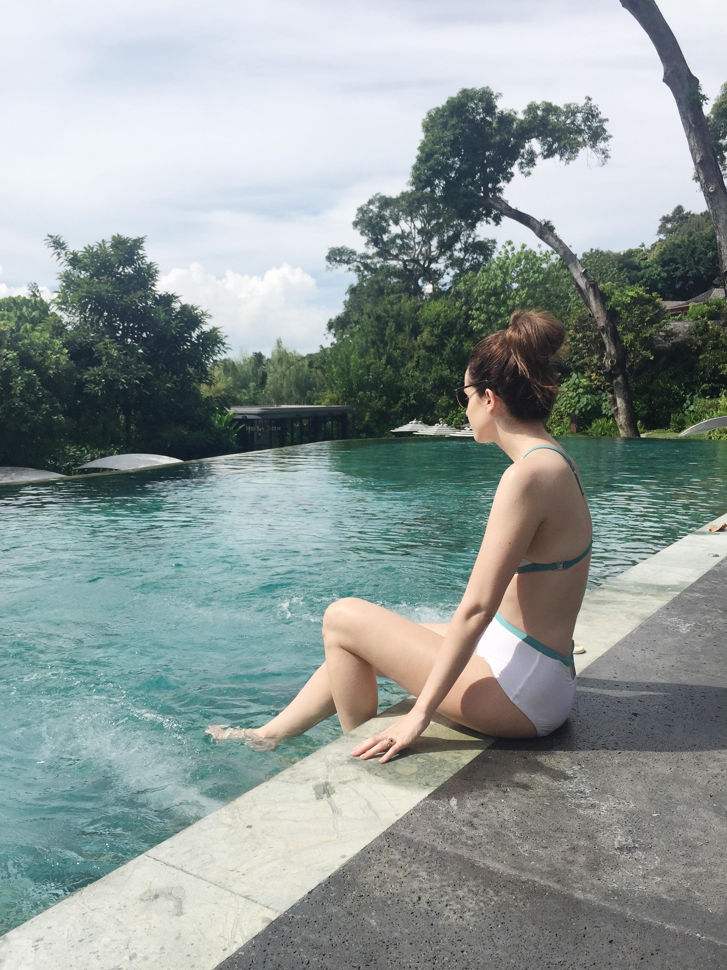 Holly White, Thailand Honeymoon, Reflection