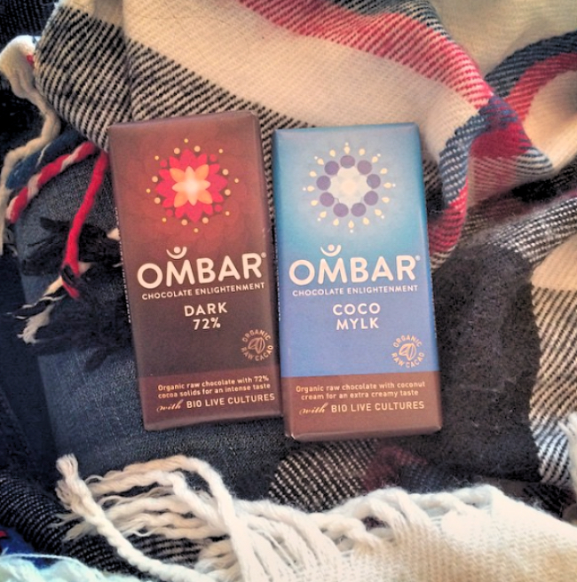 Ombar chocolate, Holly White