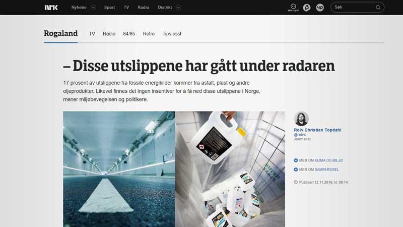 """Se saken """"Disse utslippene har gått under radaren"""" fra NRK Rogaland."""