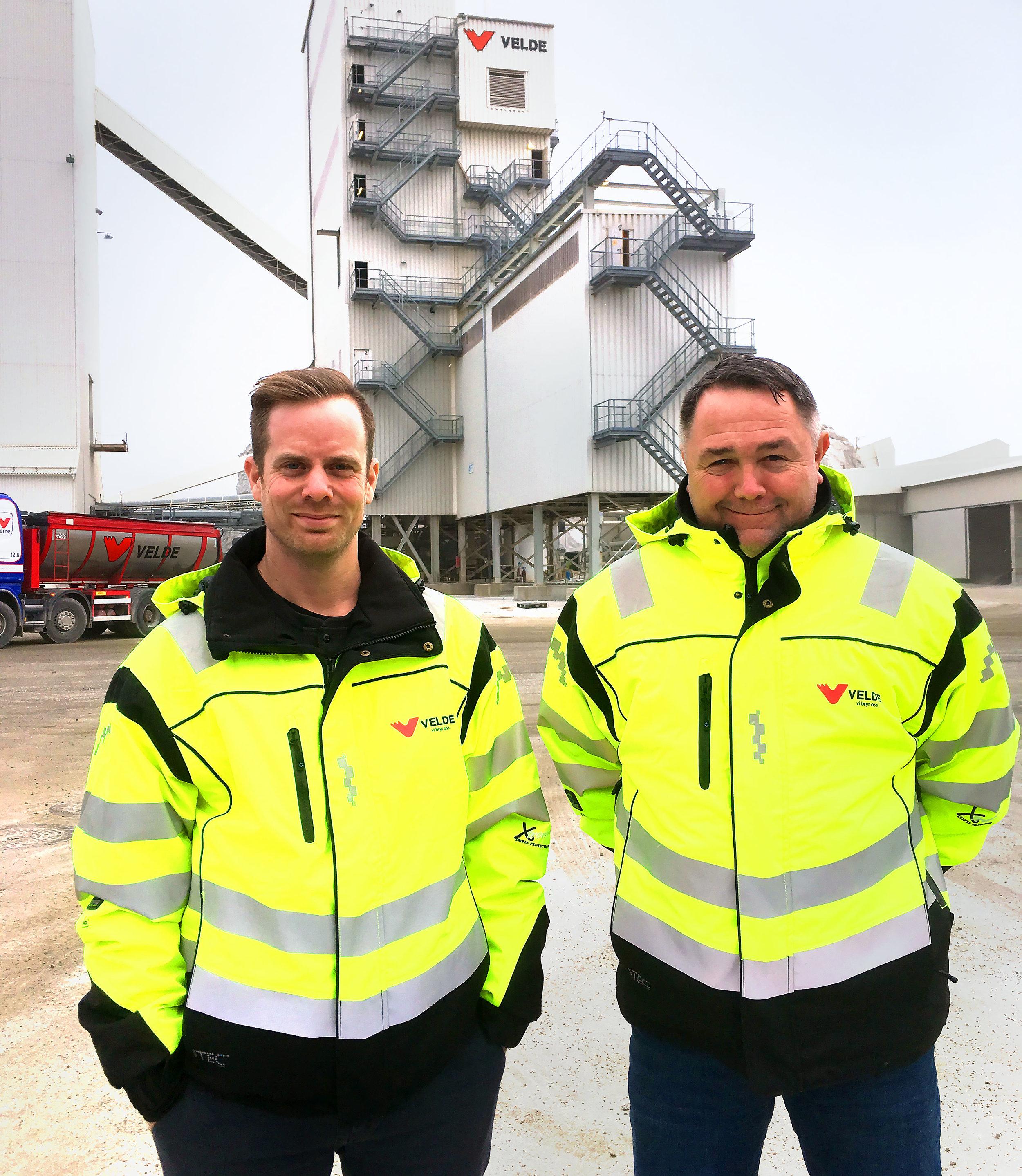 Ørjan Eriksen og Geir Undheim.