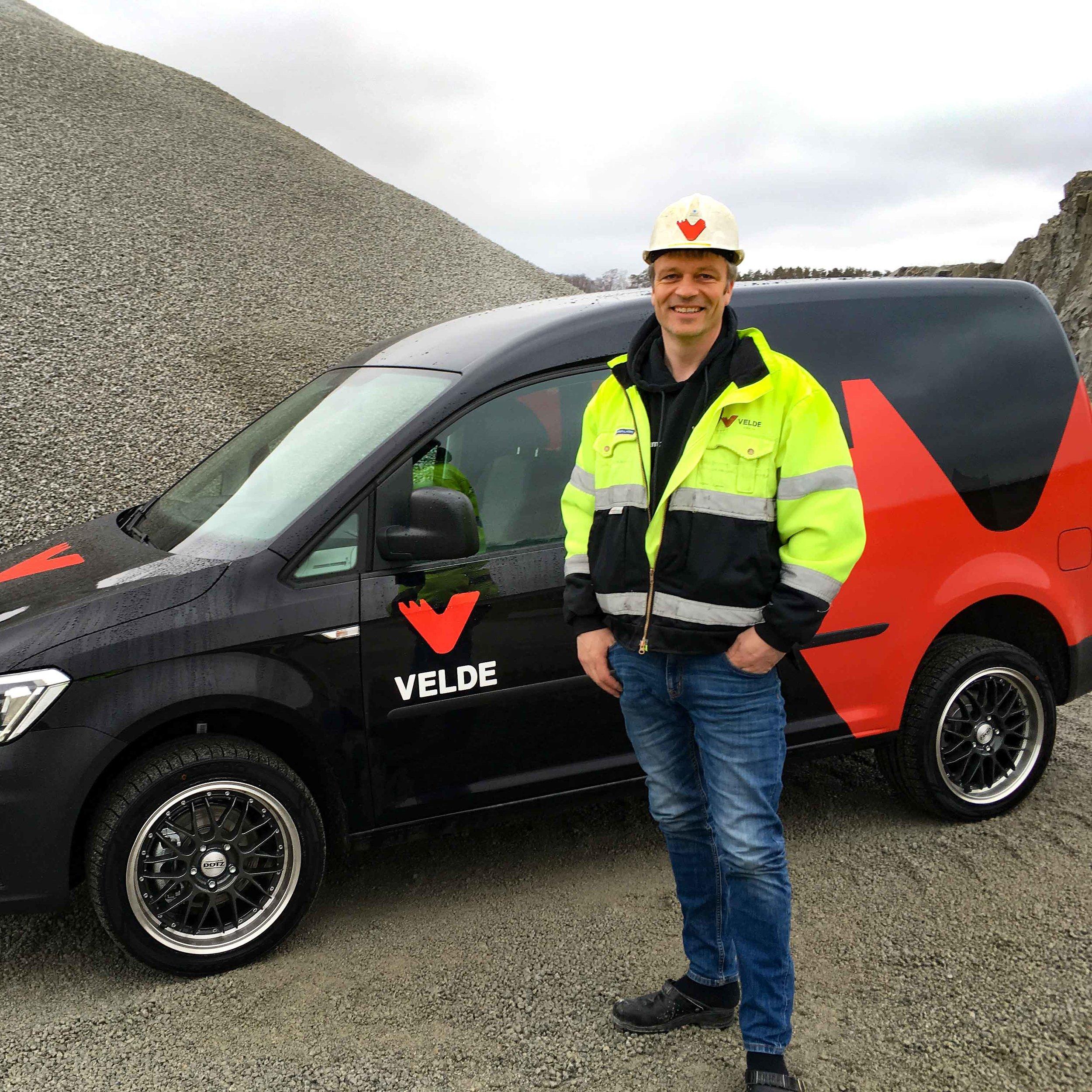 Øyvind Jonassen ny transportkoordinator i Velde Transport