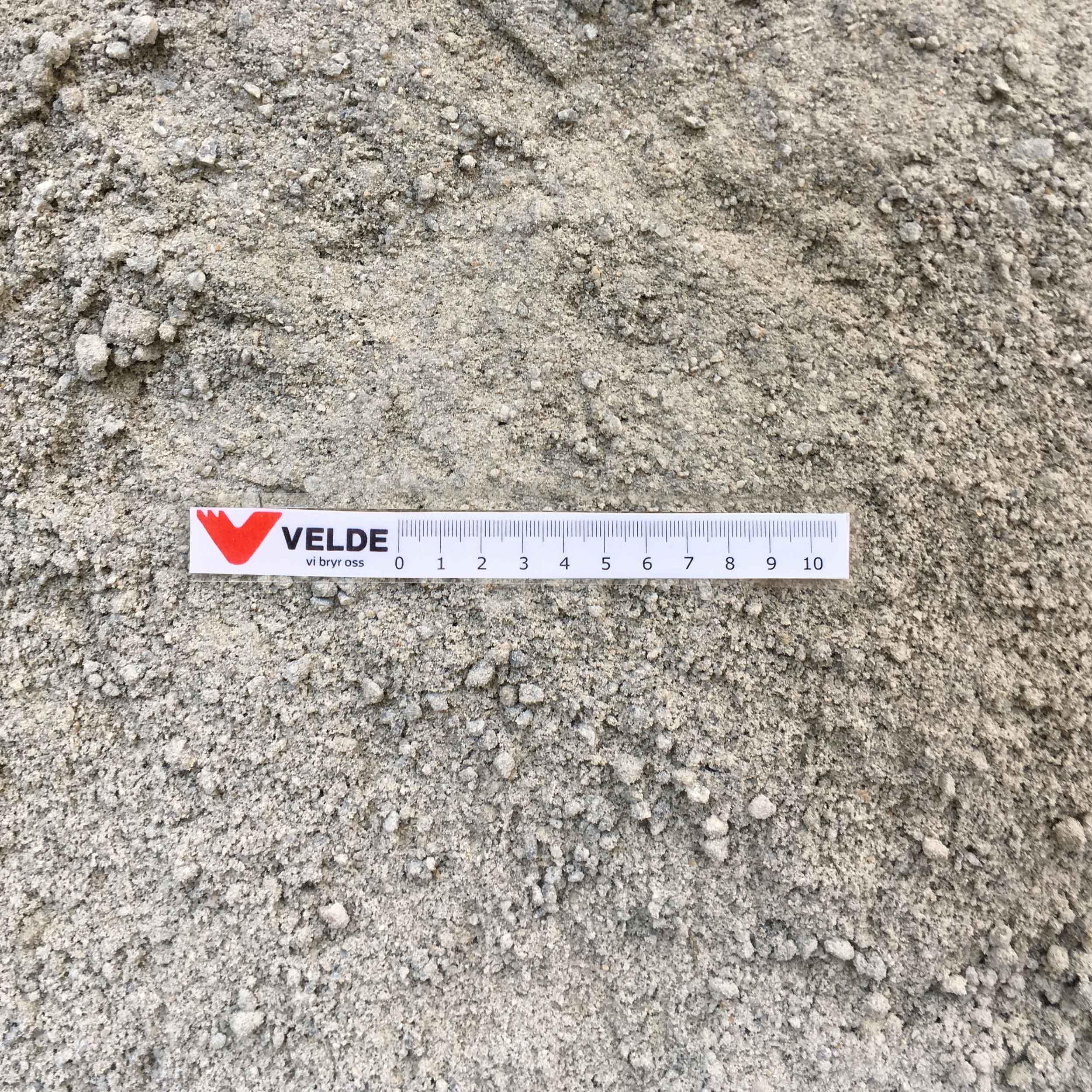 0/8 støpesand / steinstøv til belegningsstein