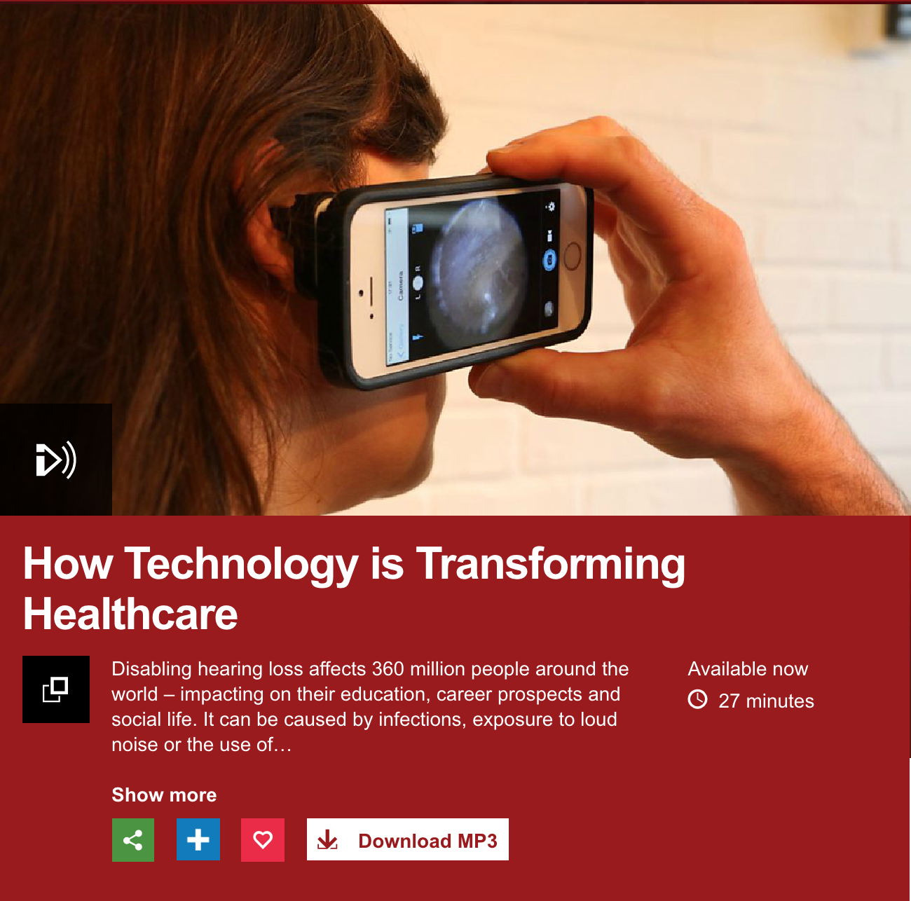 Cupris on BBC World Service! — Cupris | Smartphone connected