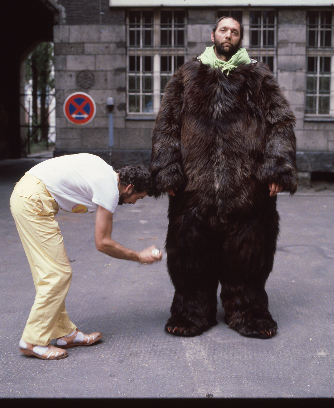 `Otto` was the man in the bear - Dress rehearsals took forever…Does Otto looked bored….