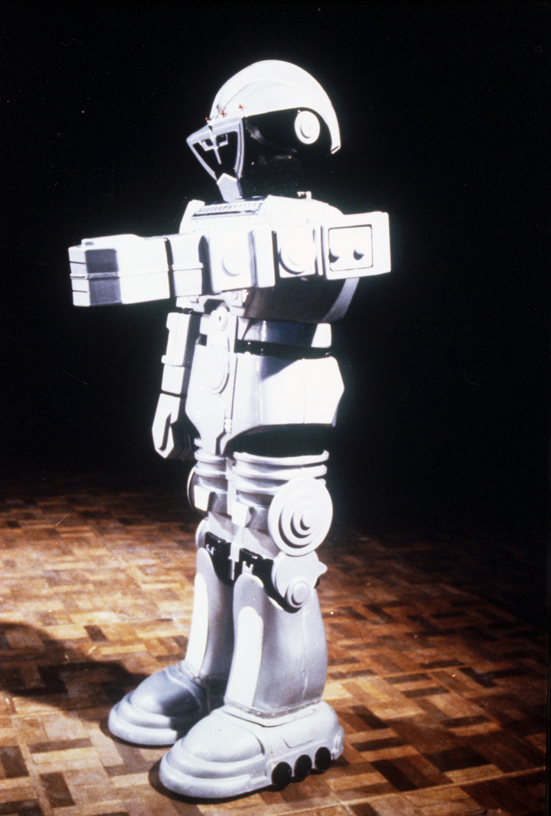 Very successful film prop…. - The clockwork robot was real success lasting to the end of the production without a hitch.