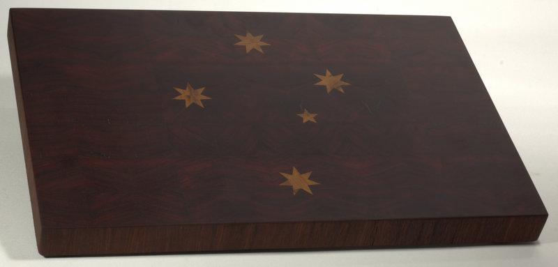 Jarrah Board with Marri Inlay