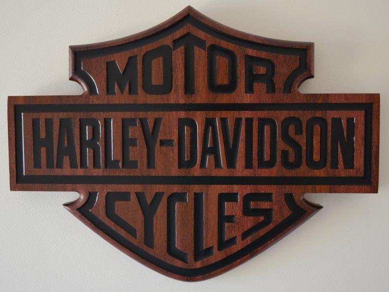 Jarrah Harley Bar and Shield