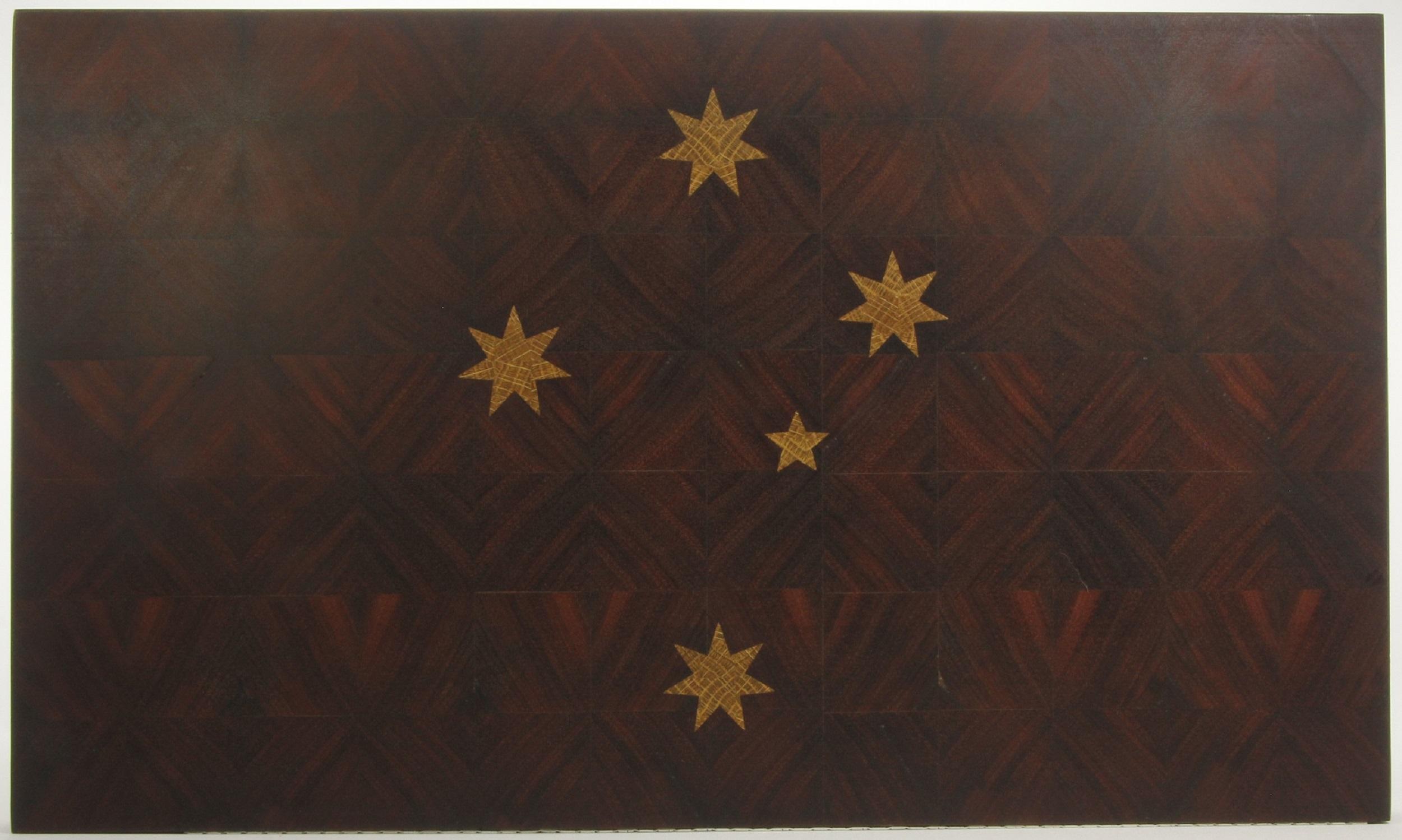 Jarrah End Grain Board with Tasmanian Oak Inlay