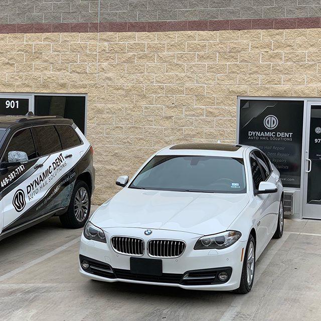 Two more Flower Mound vehicles repaired from hail damage going home today looking like new. #pdr #pdrlifestyle #bmw #bmw528i #chevy #chevyequinoxlife #haildamagerepair #flowermoundtx #flowermound #lewisvilletx #lewisville
