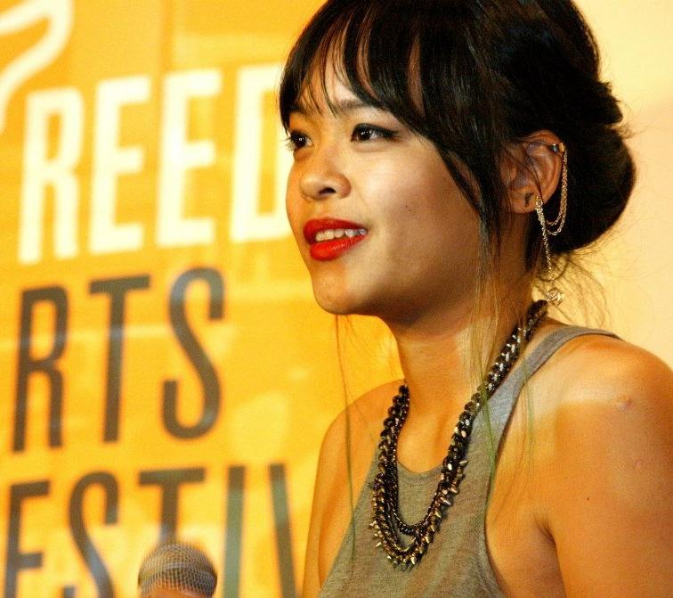 Nadira Ilana at the world premiere of  The Silent Riot , Freedom Film Fest 2012, Jaya One