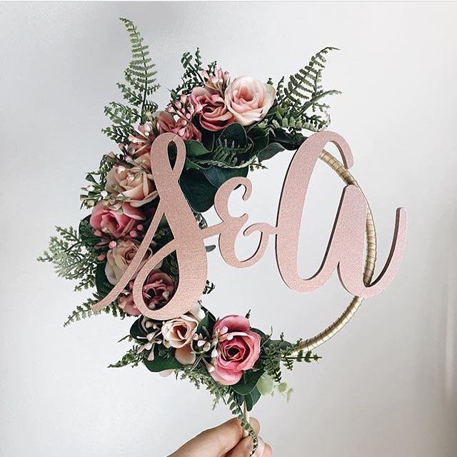 Don't you love it when you come across a business on Insta and instantly love their work. How beautiful are these cake toppers created by the talented @thewhitebulb. They would tie in lovely with our Amelia range will all the blush colours. . . . #caketopper #wedding #weddingcake #bride #groom #weddingday #weddinginspiration