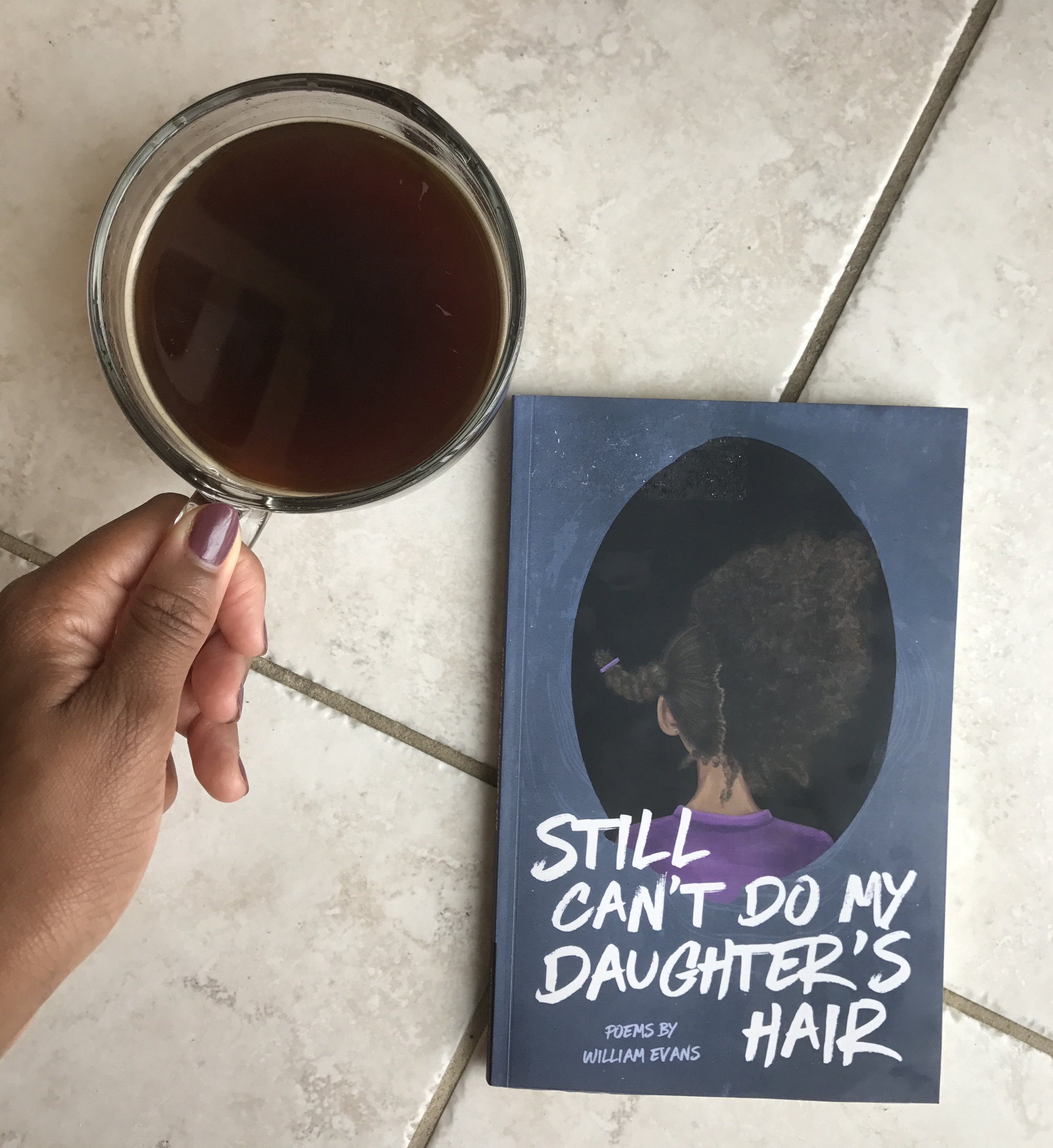 """""""My daughter loves me and a crow is released from my throat. My daughter misses me and I am not worthy. I am not here. Some nights, I kiss her goodnight and my jaw unhinges. Some nights I tuck her in and my fingers become ash."""""""