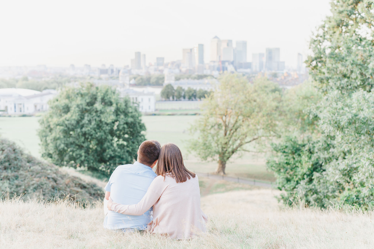 White Stag Weddings Bea & Bloom Engagement Shoot Greenwich Park