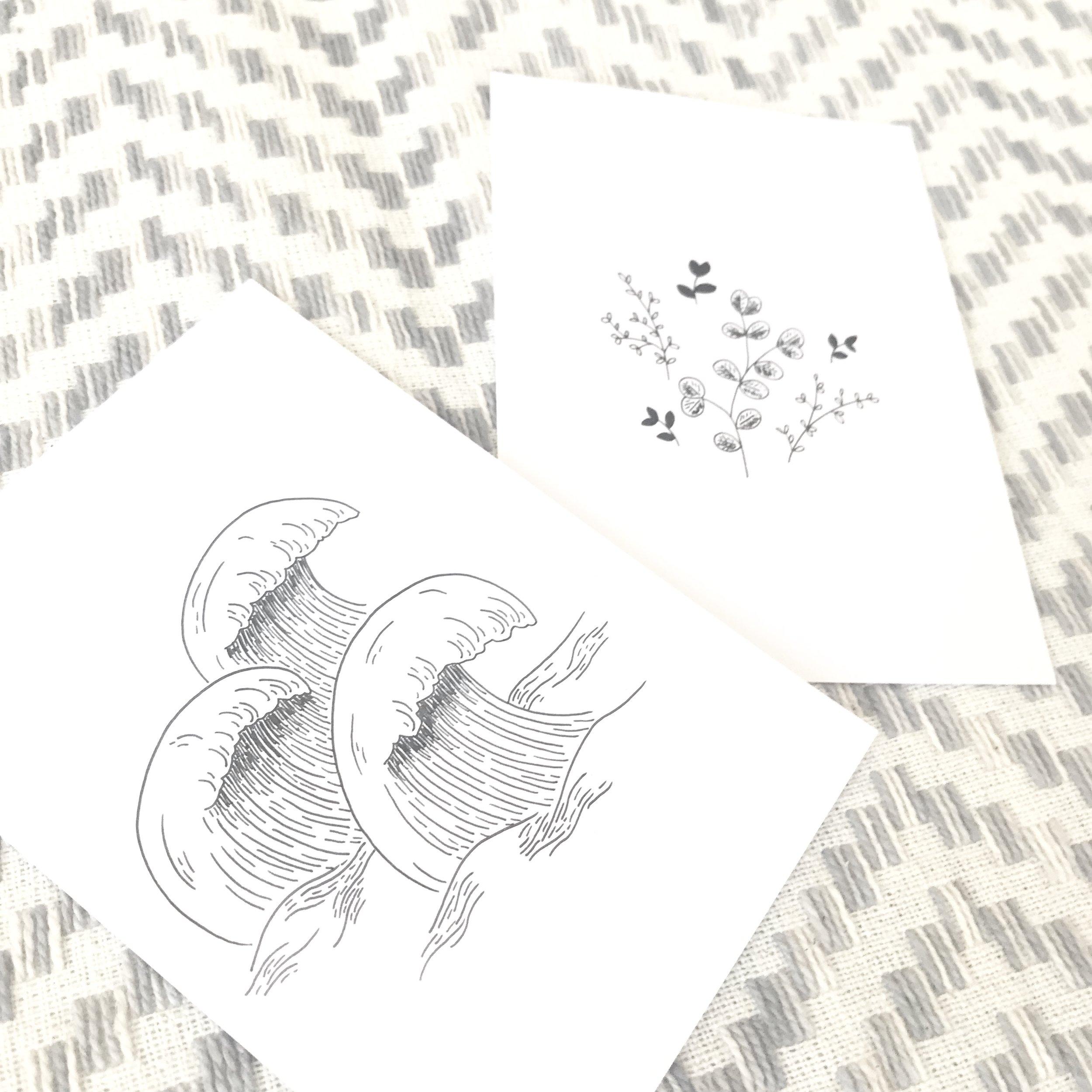 #the100dayproject sketchbook drawing illustration Bea & Bloom Creative Design Studio