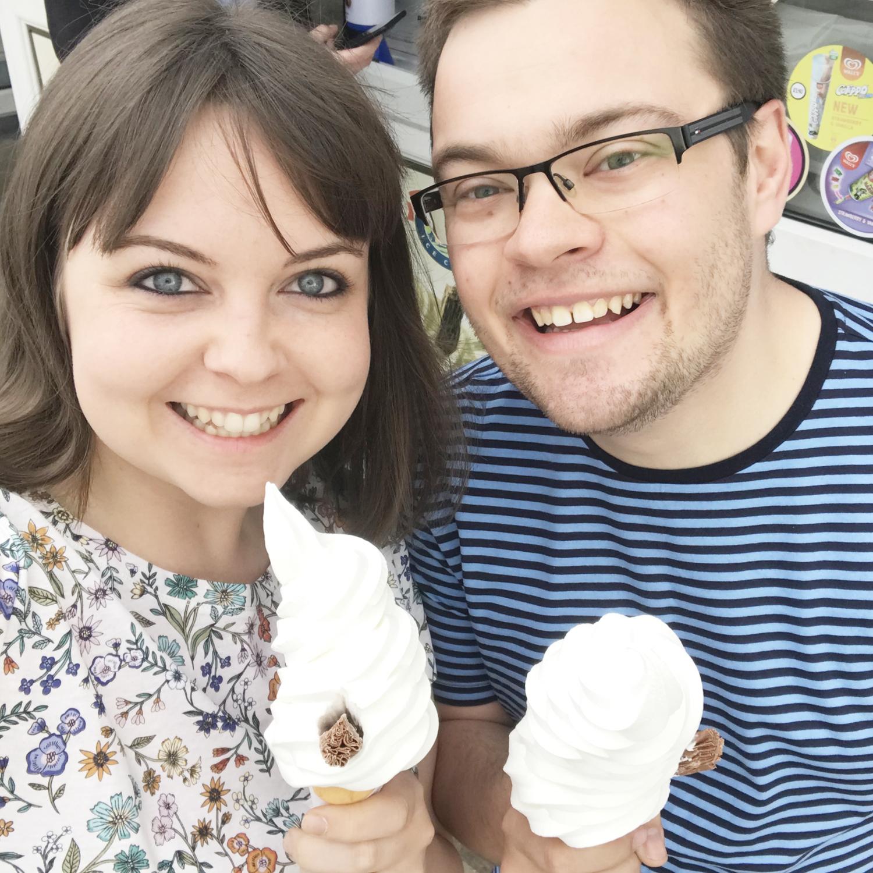 April sunshine ice cream