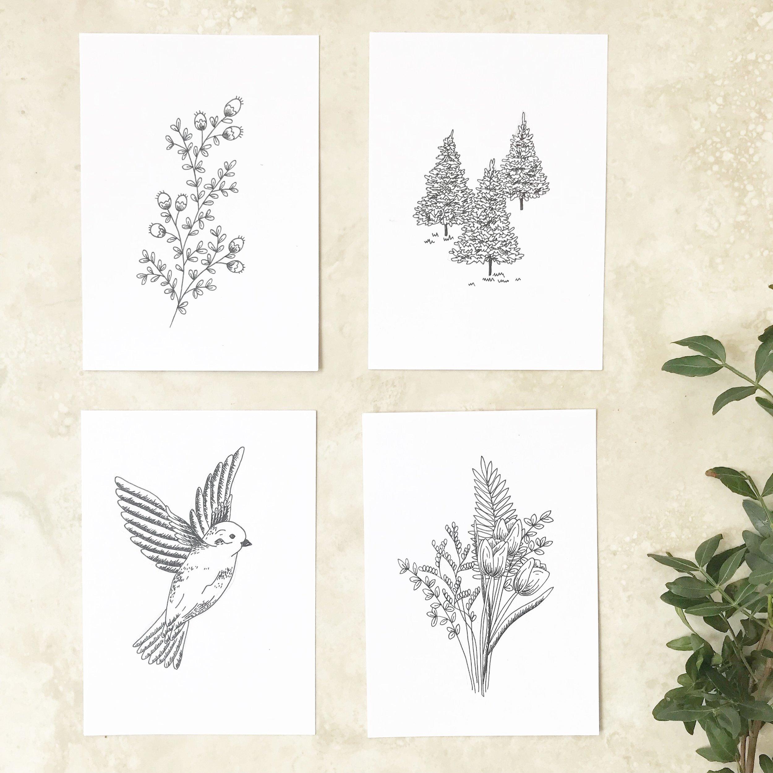 #the100dayproject sketchbook drawing illustration Bea & Bloom | Creative Design Studio
