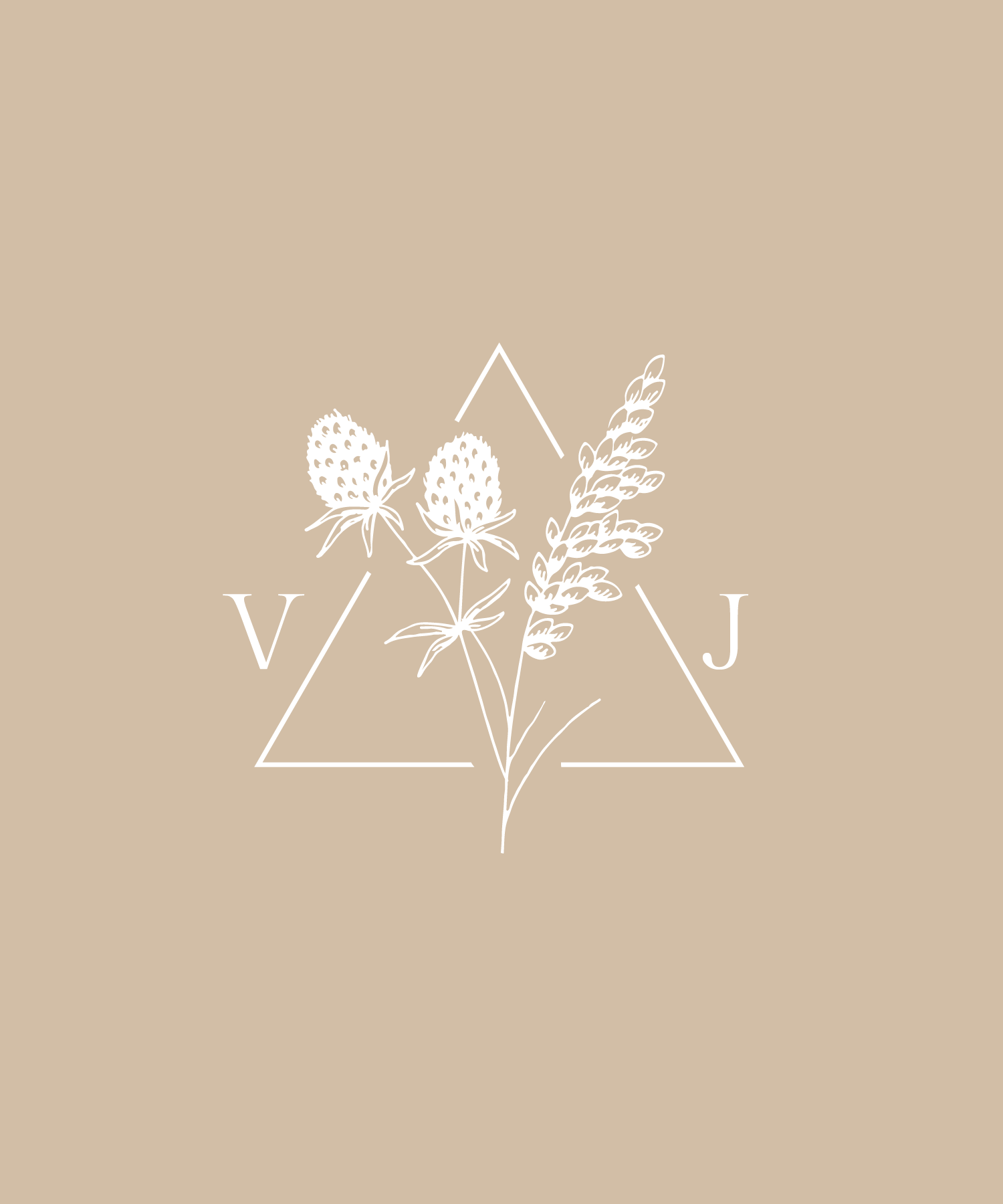 Vanessa Jaclyn Photography Logo & Branding Design by Bea & Bloom Creative Design Studio