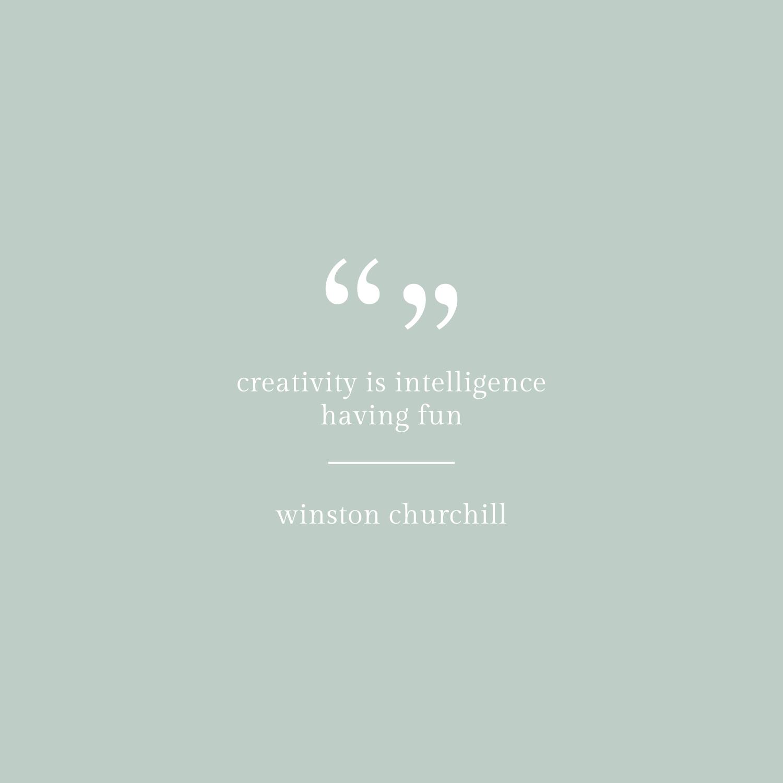 Winston Churchill Inspirational Life Quote - Bea & Bloom Creative Design Studio