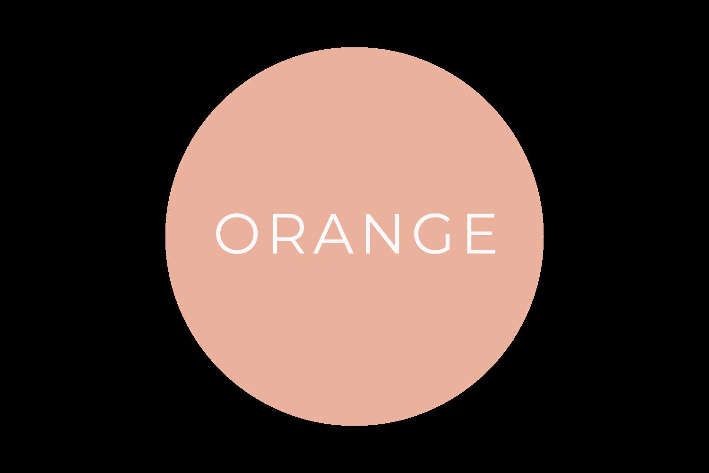Orange - The Language of Colours - Bea & Bloom Creative Design Studio