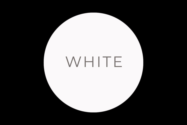 White  - The Language of Colours - Bea & Bloom Creative Design Studio