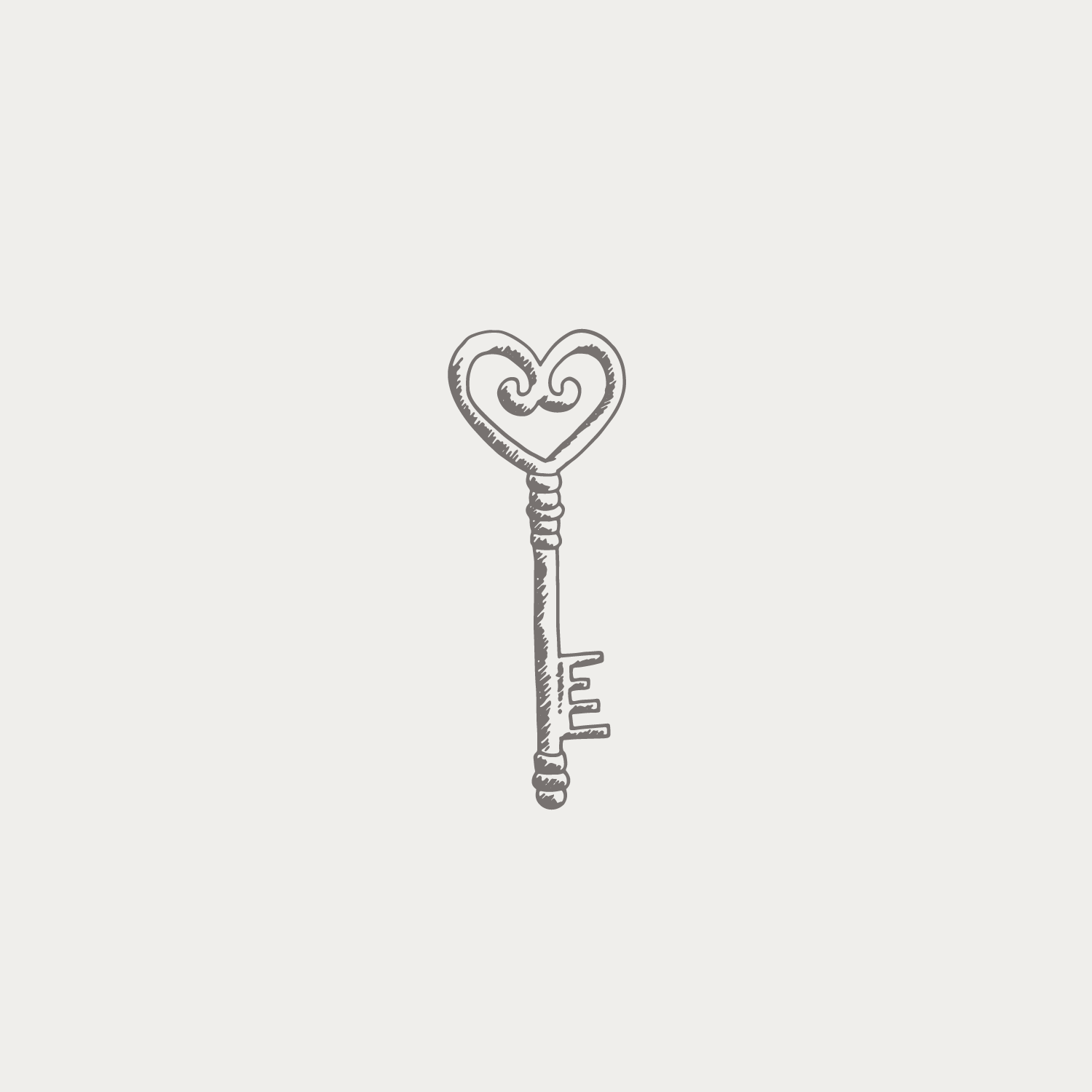 Magic Key illustration #the100dayproject by Bea & Bloom Creative Design Studio