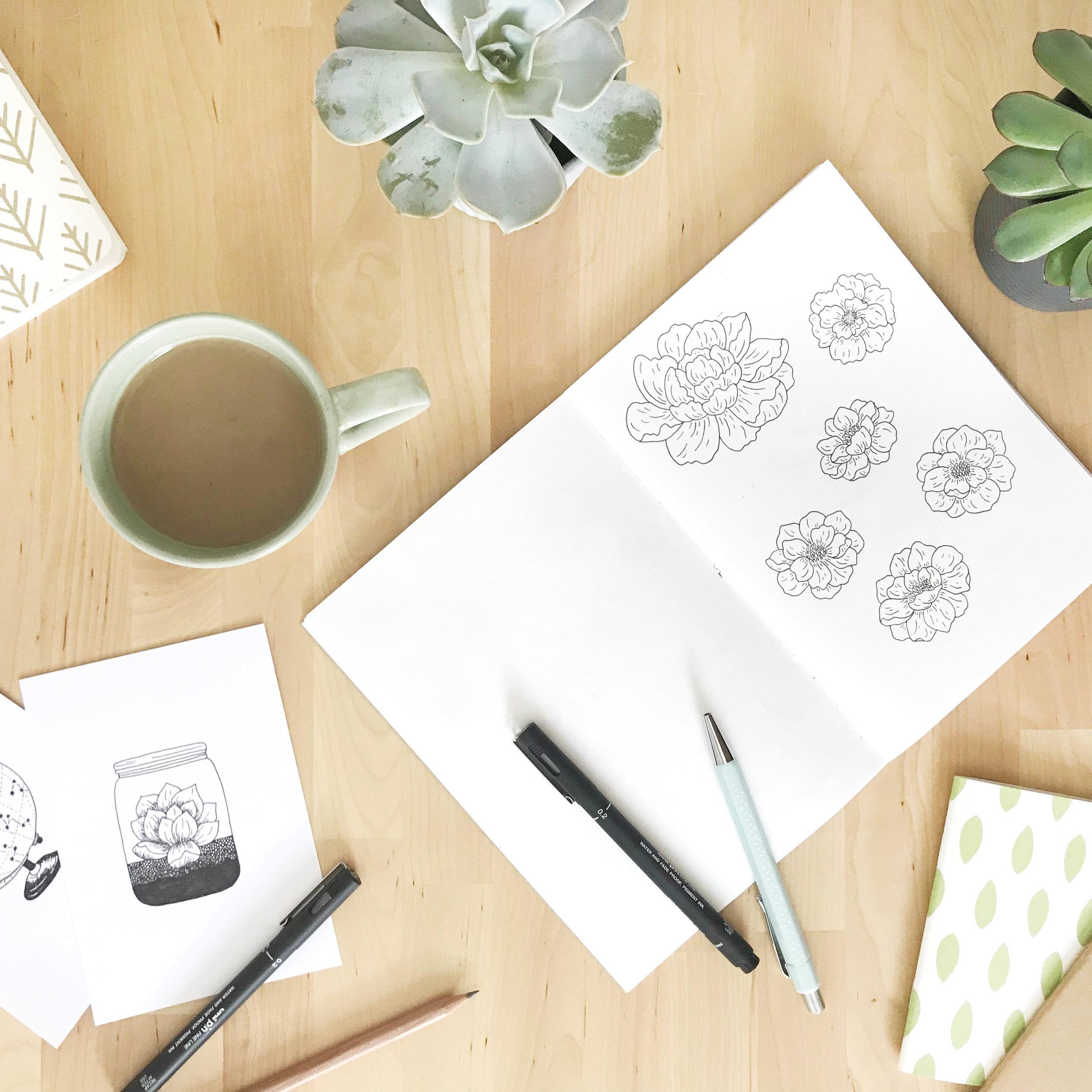 Time for a Rebrand - Bea & Bloom Creative Design Studio