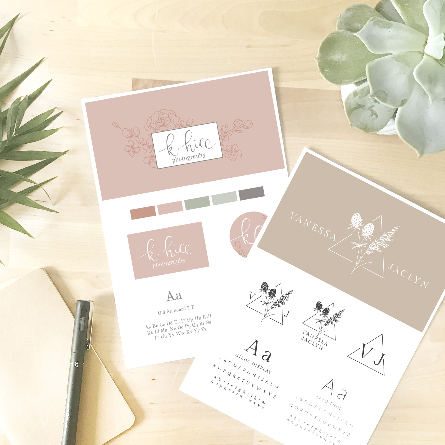 Logo variations - What they are and why you need them - Bea & Bloom Creative Design Studio