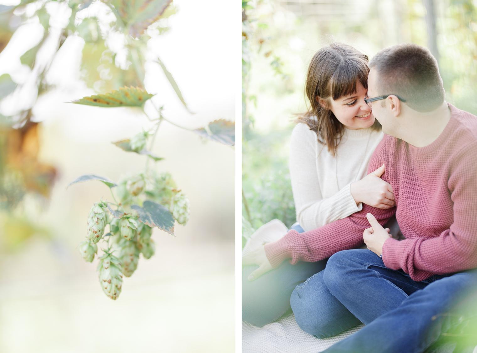 Bea & Bloom - Emma & Jamie Anniversary shoot by White Stag Weddings at Kent Life Farm