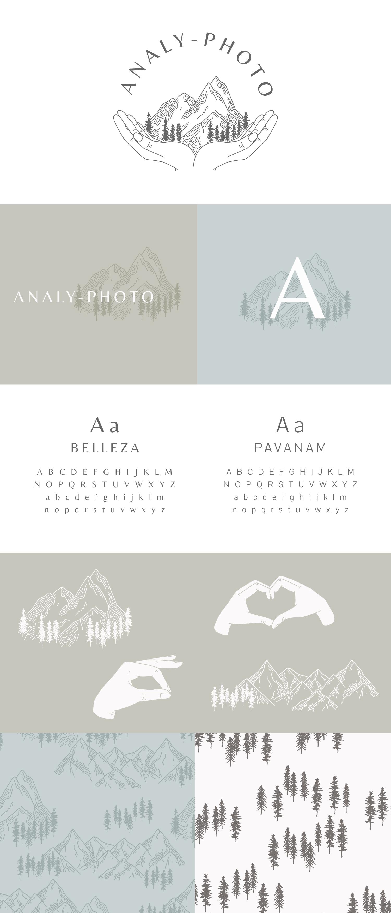 Analy-Photo - Logo & Branding design - Bea & Bloom Creative Design Studio